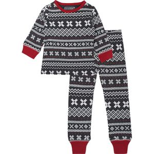 L'oved Baby Holiday Long Sleeve PJ and Cap Set - Toddler Boys'