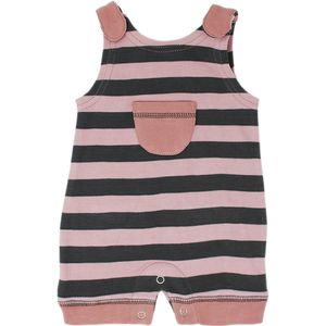 L'oved Baby Striped Sleeveless Romper - Infant Girls'