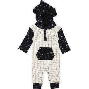 L'oved Baby Little Explorers Long-Sleeve Hooded Romper - Infants'