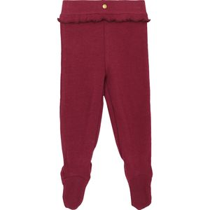 L'oved Baby Footed Legging - Ruffle Infant Girls'