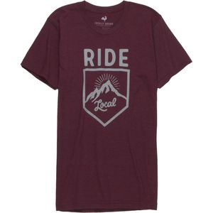 Locally Grown Ride Badge Tri-Blend T-Shirt - Men's