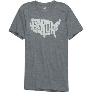 Locally Grown Explore USA Tri-Blend T-Shirt - Men's