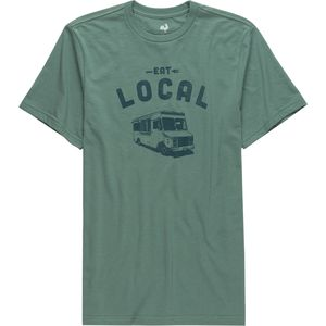 Locally Grown Eat Local - Food Van T-Shirt - Men's