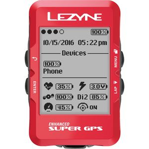 Lezyne Super Limited Holiday Edition GPS Bike Computer