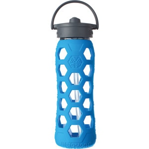 Lifefactory Glass Straw Cap Water Bottle - 22oz