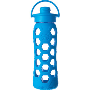 Lifefactory Glass Flip Cap Water Bottle - 22oz