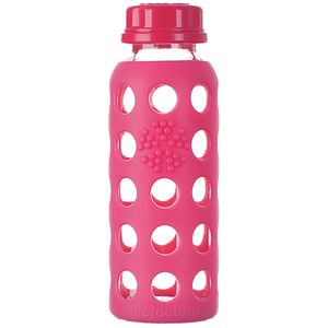 Lifefactory Glass Flat Cap Water Bottle - 9oz