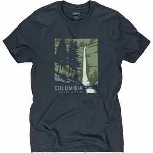 Landmark Project Columbia River Gorge Short-Sleeve T-Shirt - Men's