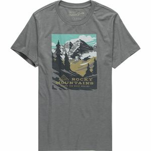 Landmark Project Rocky Mountains Short-Sleeve T-Shirt - Men's