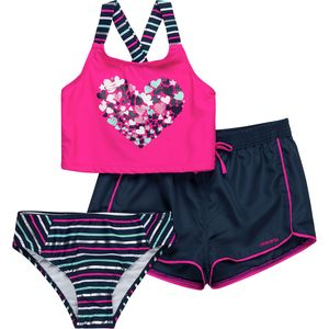 Limited Too Heart Tankini - Girls'