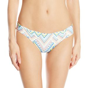 L Space Antigua White Monique Bikini Bottom - Women's
