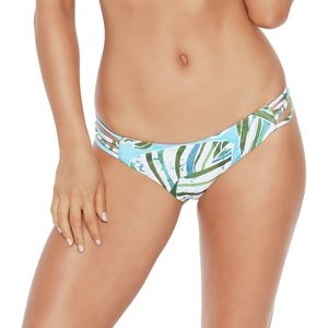 L Space Low Down Reversible Print Bikini Bottom - Women's