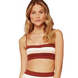 L Space Rebel Stripe Bikini Top - Women's
