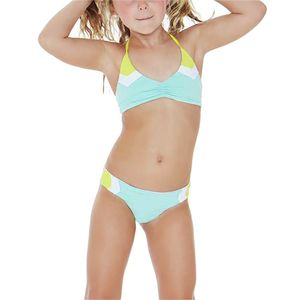 L Space Little L Haley Blocked Bikini Set - Girls'