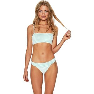 L Space Ridin' High Ribbed Veronica Bikini Bottom - Women's