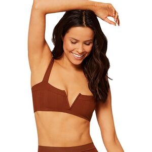 L Space Lee Lee Pointelle Rib Bikini Top - Women's