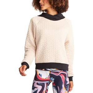 Lucy Full Potential Quilted Pullover Sweatshirt - Women's