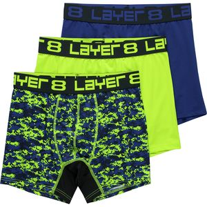 Layer 8 Printed Boxer Brief - 3-Pack - Men's