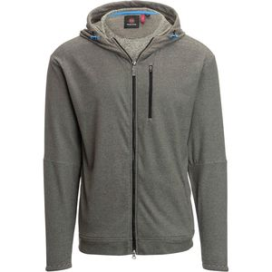 Mountain and Isles Mini Stripe Heather Fleece Zip-Up Jacket - Men's