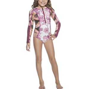 Maaji Amaranth Chocolatta Rashguard - Toddler Girls'