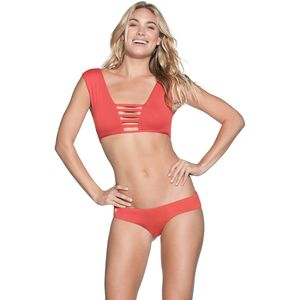 Maaji Cinnamon Divine Reversible Fashion Bikini Top - Women's