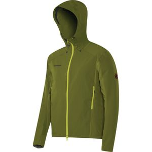 Mammut Base Jump SO Hooded Softshell Jacket - Men's