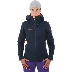 Mammut Ultimate Eisfeld SO Hooded Jacket - Women's