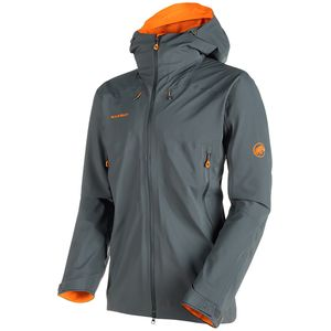 Mammut Ultimate Eisfeld SO Hooded Jacket - Men's