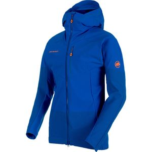 Mammut Eisfeld Light SO Hooded Jacket - Men's