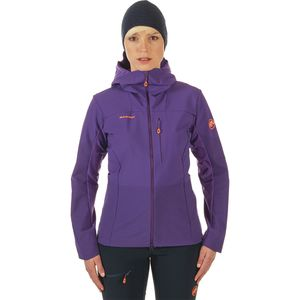 Mammut Eisfeld Light SO Hooded Softshell Jacket - Women's