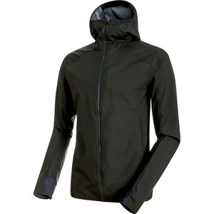 Mammut Ultimate V Light SO Hooded Jacket - Men's