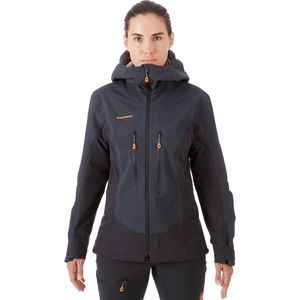 Mammut Eisfeld Guide SO Hooded Jacket - Women's
