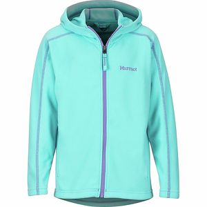 Marmot Rocklin Hooded Fleece Jacket - Girls'