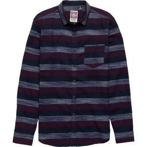 Micros Hunter Stripe Flannel Button-Down Shirt - Men's
