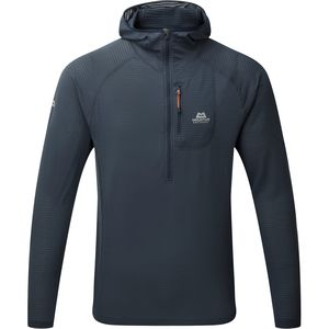 Mountain Equipment Solar Eclipse Hooded Zip T-Shirt - Men's
