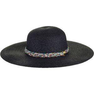 Magid Floppy Multicolor Braid Band Hat - Women's