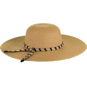 Magid Floppy Stripe Braided Double Trim Band Hat