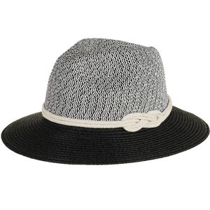 Magid Panama Colorblock Sailors Knot Band Hat