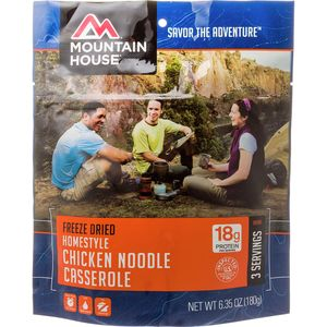 Mountain House Homestyle Chicken Noodle Casserole - 3 Serving Entree