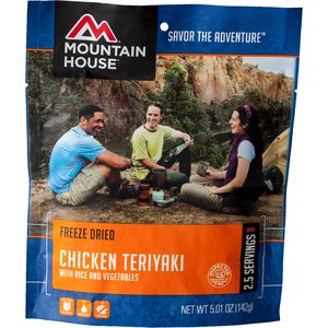 Mountain House Chicken Teriyaki - 2.5 Serving Entree