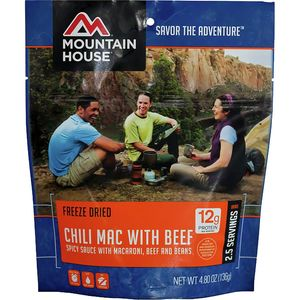 Mountain House Chili Mac with Beef - 2.5 Serving Entree