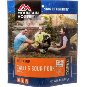 Mountain House Sweet & Sour Pork with Rice - 2.5 Serving Entree