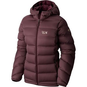 Mountain Hardwear StretchDown Plus Hooded Jacket - Women's