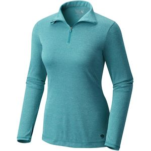 Mountain Hardwear Wicked Printed 1/4-Zip Shirt - Women's