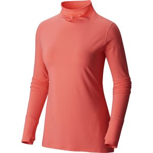Mountain Hardwear Butterlicious T Neck Shirt - Women's