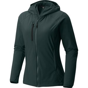 Mountain Hardwear Super Chockstone Hooded Softshell Jacket - Women's