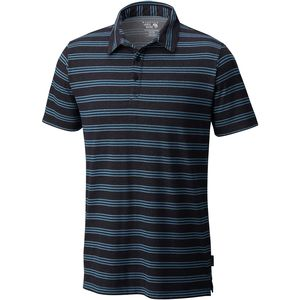 Mountain Hardwear ADL Striped Polo Short-Sleeve Shirt - Men's