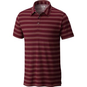 Mountain Hardwear ADL Striped Polo Shirt - Men's
