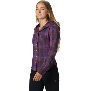 Mountain Hardwear Acadia Stretch Hooded Shirt - Women's