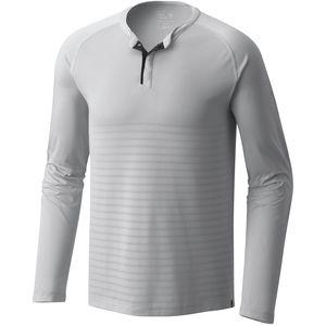 Mountain Hardwear MHW VNT Long-Sleeve Henley - Men's